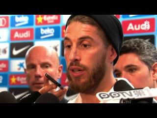 Sergio Ramos y Jesé analizaron la victoria del Real Madrid en el Camp Nou