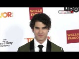 Darren Criss on the red carpet at TrevorLIVE 2015