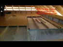 Утепление пенополистиролом между этажных перекрытий по деревянным балкам. ООО Памир Строй