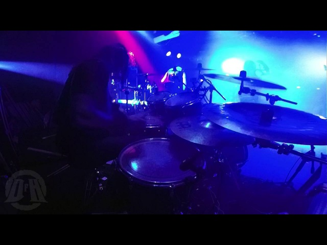 MARDUK@Throne Of Rats--Fredrik Widigs-live in Poland 2016 (Drum Cam)