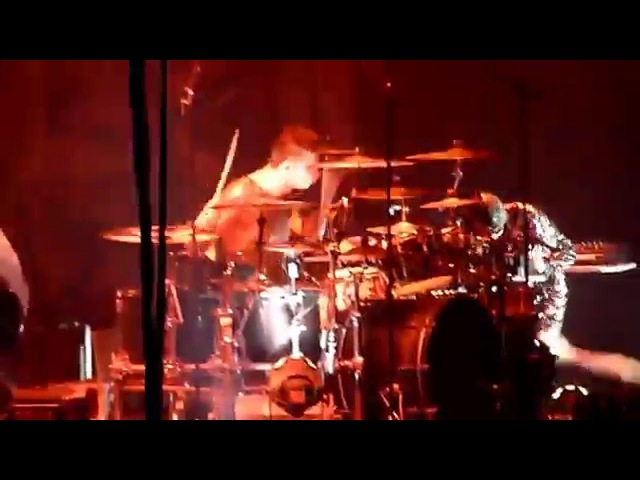 Christoph Schneider Drum- Feuer Frei! Live Zurich 2011