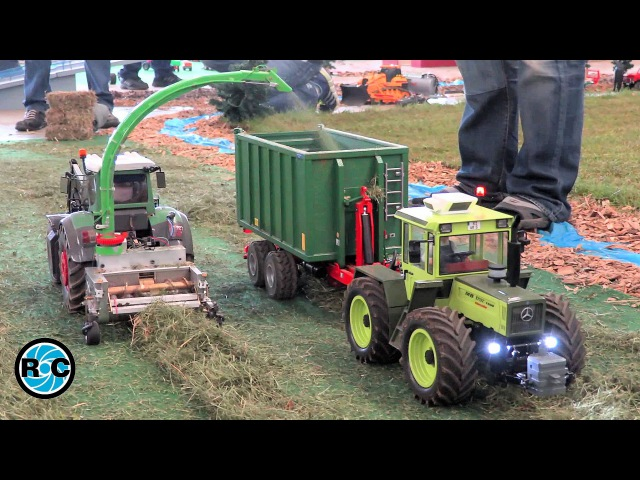 RC Tractor at work - Thanks for 50k subscribers