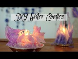 DIY Gothic Water Candles - Frozen inspired