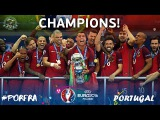 Portugal vs France 1-0 Highlights & Full Match EURO 2016 FINAL | Eder extra-time goals Portugal won