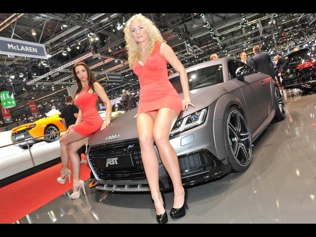 Moscow International Motor Show - TV Presenter Nasty Girl