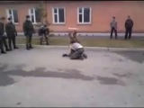 Драка в армии - русский против дагестанца (fight in the russian army)
