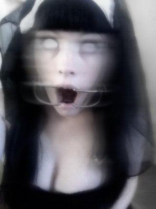 страшные картинки девушек на аву