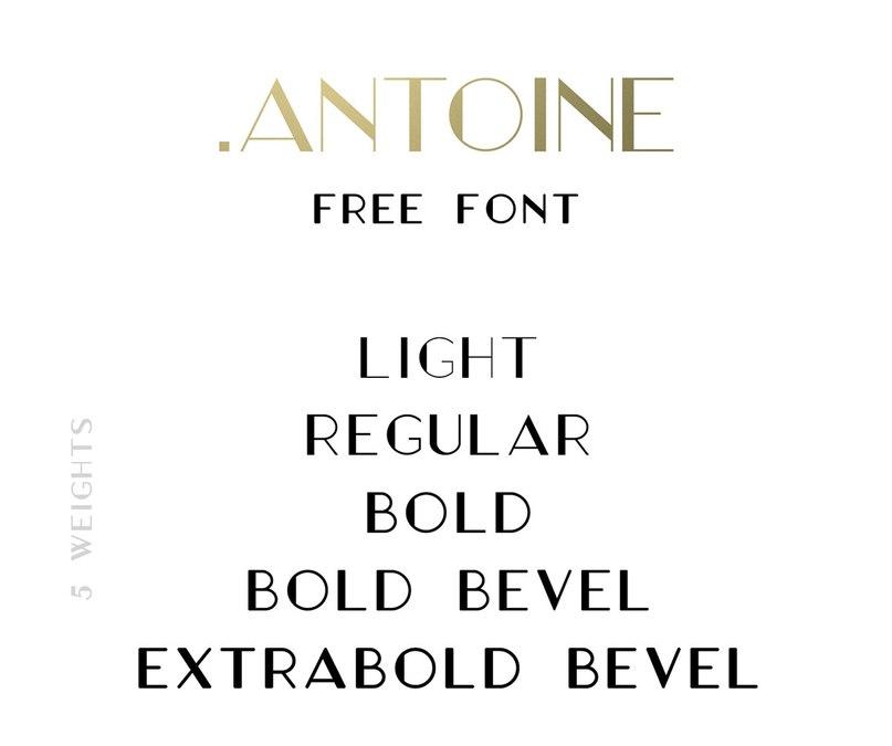 Download Antoine font (typeface)