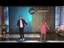 Танцевальный батл.Крис Эванс и Элизабет Олсен
