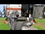 Маша и Медведь 7 серия -  С волками жить...