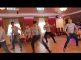 Русские парни зажигают на свадьбе! Our answer lezginka