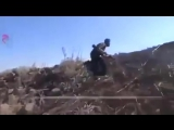 Сирия.Уничтожение гранатометчика боевиков снайпером САА