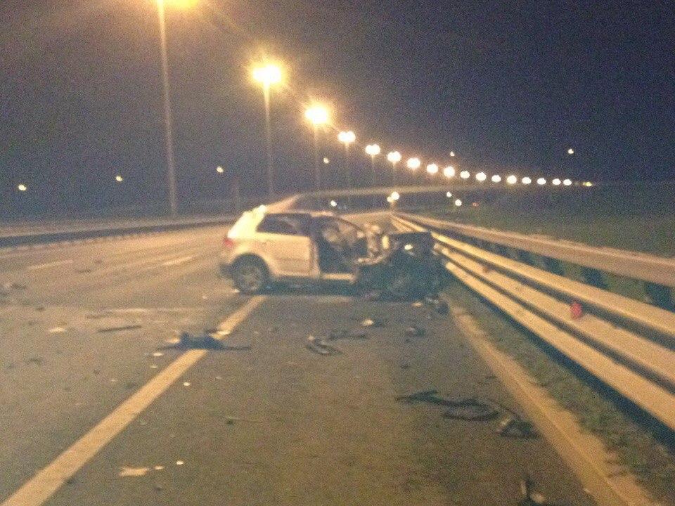 Свидетели: наКАД вавтомобильной трагедии погибли три человека