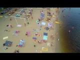 Київські пляжі з дрону