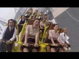 Ferrari World Abu Dhabi invited 28 of bravest Etihads Cabin Crew down to try their new Flying Aces rollercoaster.