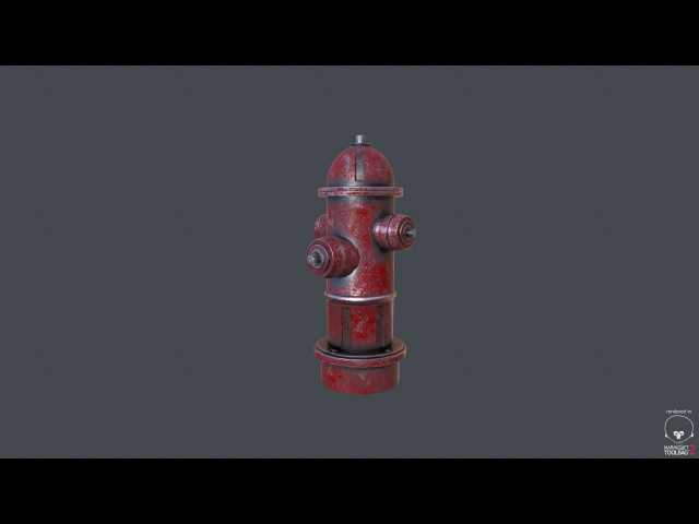 Texturing fire hydrant 3ds max - Substance painter