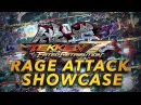 TEKKEN 7 | FATED RETRIBUTION - NEW RAGE DRIVE - Attack System Showcase Trailer 2016 | 鉄拳7