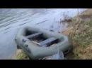 На Дністрі впіймали браконьєра який на гумовому човні перевіряв свої сітки