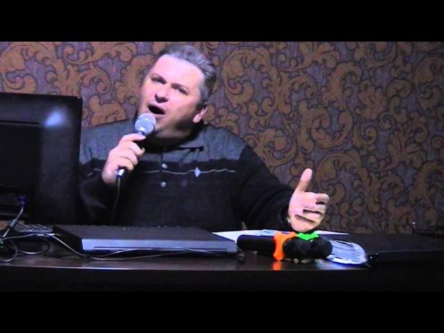 Караоке Я люблю тебя до слез Александр Серов исполняет Илья Синенко