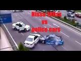 nissan 180sx vs malaysia police cars-three malaysia police car chasing nissan 180sx in a highway