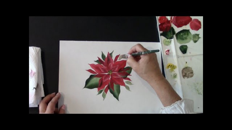 Simple Poinsettia