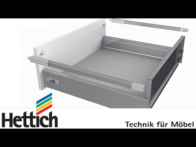 InnoTech Atira drawer system: assembly, installation and adjustment