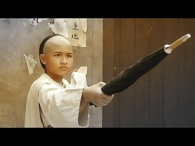 Маленький дракон Вонг Фей-Хун защищается | Little Dragon Wong Fei-Hong protected
