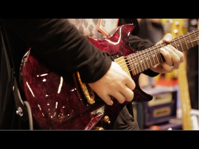 NAMM 2016 Timo Somers Live At The Dunlop Booth (Part 1)
