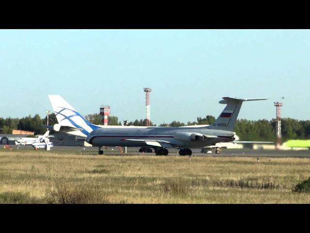 Взлёт Ил-62М ВВС