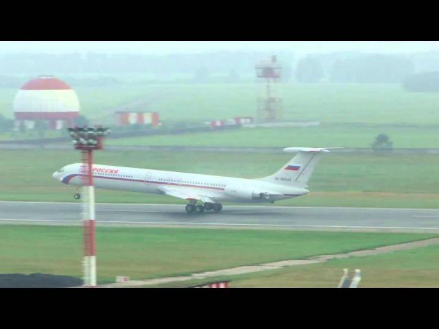 Взлёт Ил-62М ГТК Россия