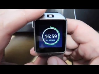 Smart Watch Phone DZ09 краткий обзор