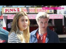 Hailey Baldwin & Lucky Smith Shoot For Tommy Hilfiger Denim At Pink's Hot Dogs 4.19.16