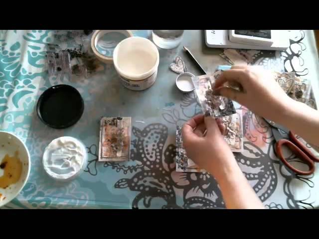 Magical Tea ATCs by Riikka Kovasin