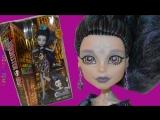 Распаковка Куклы Monster High Elle Eedee Эль Иди Монстер Хай Бу Йорк Boo York