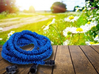 Растягивающийся шланг для полива XHose (The stretch hose for watering)