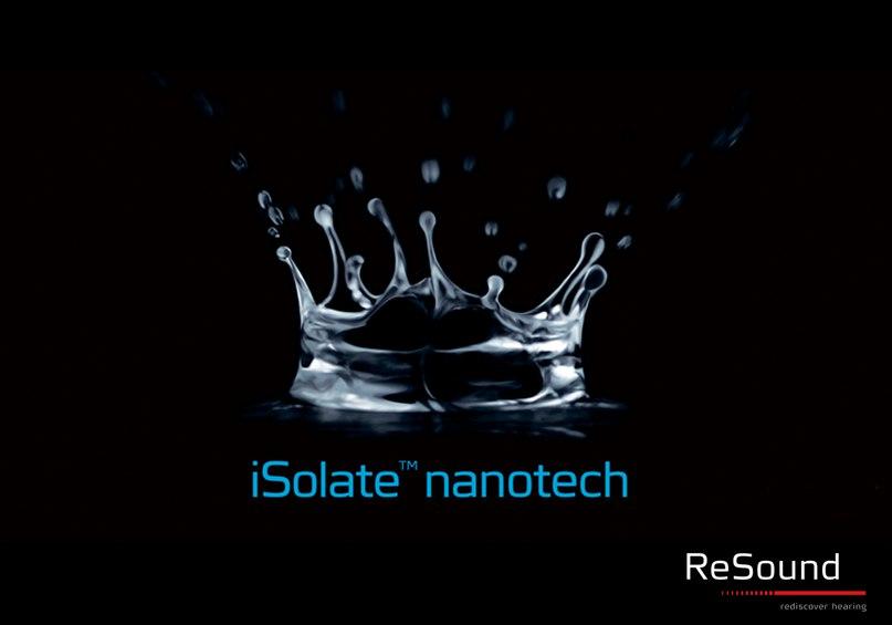Слуховые аппараты концерна GN ReSound изготавливаются только из высококачественных и долговечных материалов, каждый миллиметр которых дополнительно покрывается iSolate nanotech – высокотехнологичным покрытием, изолирующим корпус и внутренние элементы от а