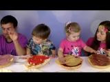 ✿ БУРГЕР ЧЕЛЛЕНДЖ Burger Challenge от Kids Diana Show Вызов Принят! BURGER Challenge