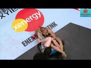 Непобежденная чемпионка UFC Самая сильная и красивая женщина Ронда Роузи [HD, 720p]