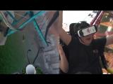 Американские горки с прохождением в VR-очках