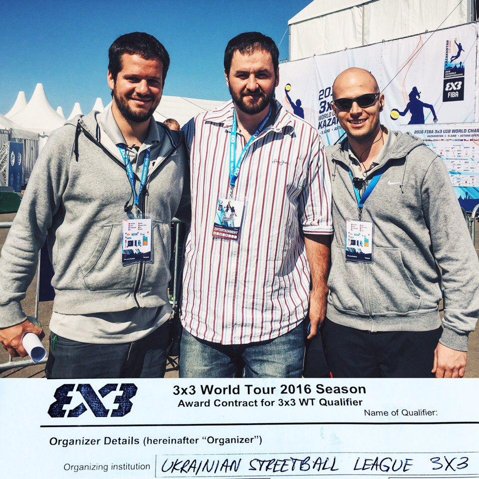 УСЛ получает статус сателлита FIBA 3x3!