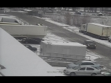 Первый снег как шило в зад )