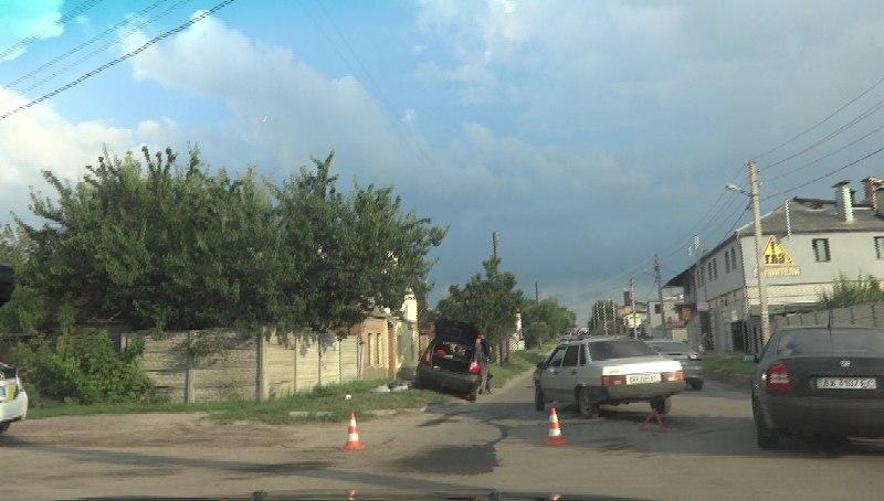 Крупная авария произошла в Харькове (ФОТО, ВИДЕО)