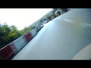 Isle of Man TT 2014 Съемка с мото Cameron Donald