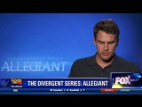 FOX Beat Theo James stars in The Divergent Series Allegiant