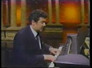 Placido Domingo on Johnny Carson, sings and plays Core 'ngrato