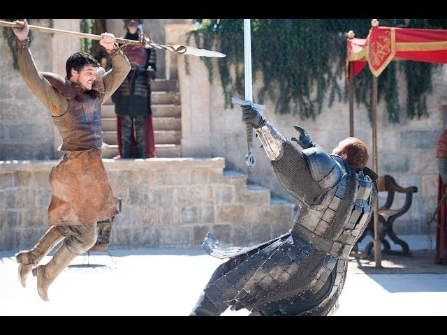 GAME OF THRONES- The Red Viper vs. The Mountain / Oberyn Martell's Death