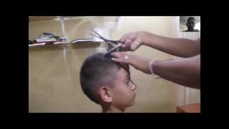 Tutorial de barberia como hacer el corte cresta curso de barberia