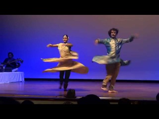 Kathak Sargam by Guru Mulla Afsar Khan and Rochna Desai @ IGCIC Mauritius