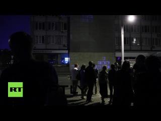 На стене многоэтажного дома в Екатеринбурге установили гигантский тетрис