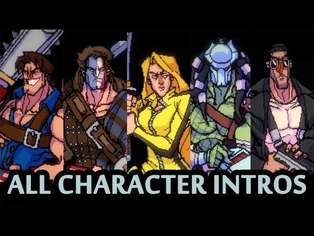 BROFORCE All CharacteR Intros and References Oct 2015